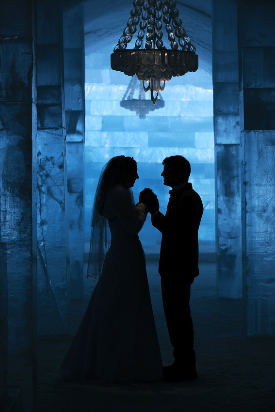 Wedding Photography by Oliver Dixon - Wedding at the Icehotel, Sweden.